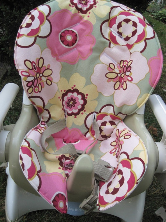 Custom FISHER PRICE SPACE SAVER High Chair Cover