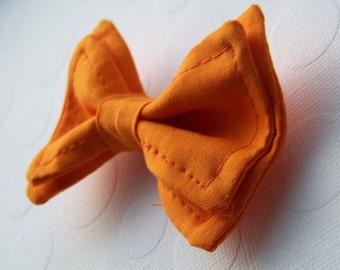 Orange Bow Tie - Bow Tie - Toddler Bow Tie - Newborn Bow Tie -Bowtie - Boys Bow Tie  -Bow tie Boys - Mens Bow Tie -Orange Tie - Fall Bow tie