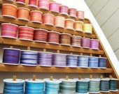 Your choice - 20 metres of 3.5mm variegated silk ribbon