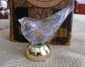 Vintage Avon collectible bottle - Song bird