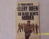 Vintage The Black Hearts Murder by Ellery Queen