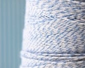 Baby Blue and White Bakers Packaging Twine (25 yards)