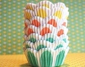 Assorted  Tulip Cupcake Liners (45)