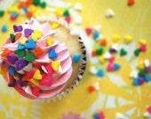 Pastel Heart Confetti Sprinkles (4 ounces) 1/4 pound