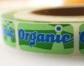 Organic Label Stickers (25)