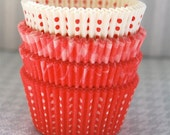 Assorted Red Cupcake Liner Pack 1