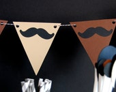 Mustache Party Banner