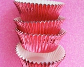 Light Pink Foil Cupcake Liners (50)