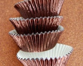 Brown Foil Cupcake Liners (50 liners)