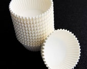 Bulk Cupcake Liners White (500)