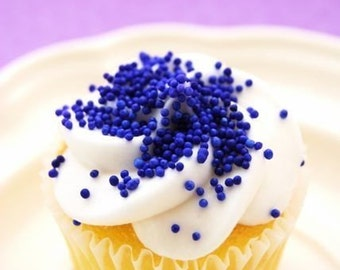 Purple NonPareils Sprinkles for Cupcakes or Cookies (4 ounces)