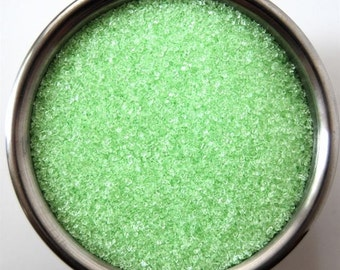 Green Pastel Sanding Sugar (4 ounces)