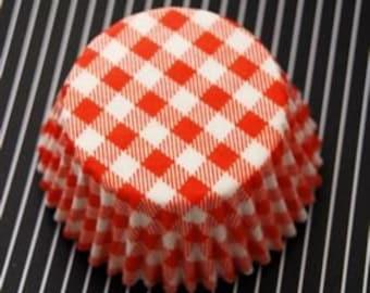 Orange Picnic Cupcake Liners (50)