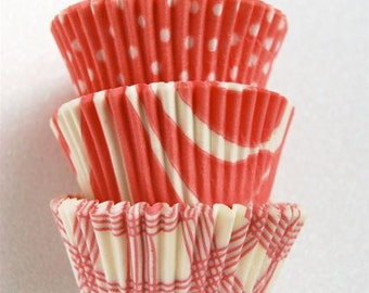 Assorted Pastel Pink Cupcake Liners (45 per pack)
