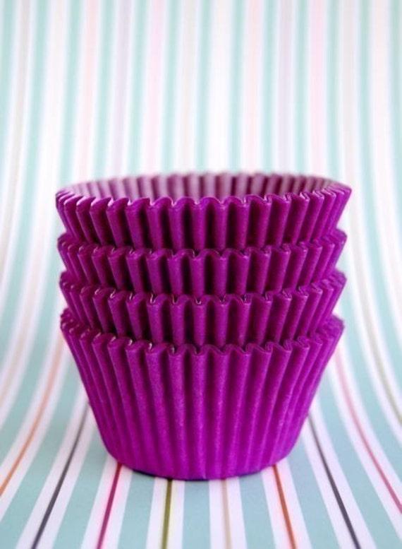 Purple  Cupcake Liners (50)
