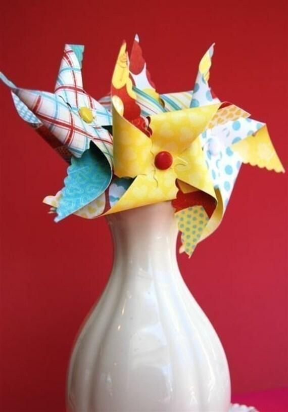 Fly like a bird Pinwheels for Cupcakes (12)