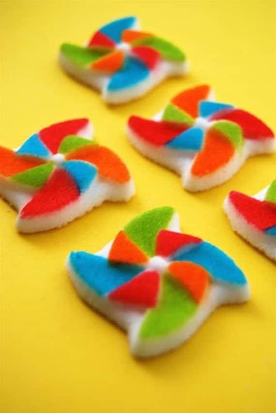 Edible Pinwheels Sugar Molds (6) Last Pack