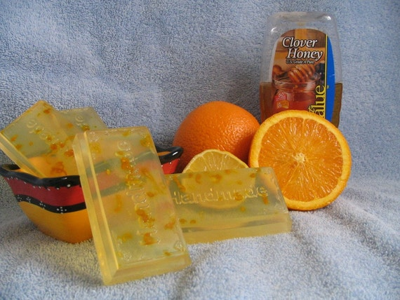 Soap - Honey Citrus Bar