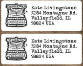 Midnight Letters - Return Address Label, Shop Label