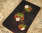 Hand Tooled Leather Note Pad