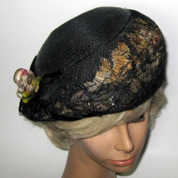 Fantastic Early 1900s Black Hat on Sale