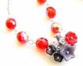 Berry Bouquet necklace