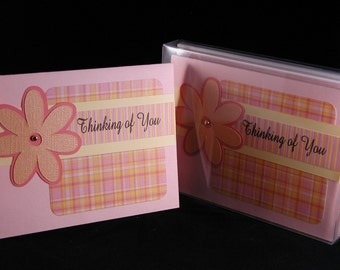 Flower Note Card Set
