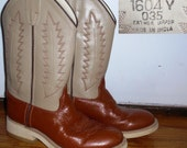 Cowboy Boots size 35 euro (us womens 5)