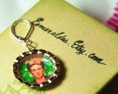 Frida Kahlo Mini Bottlecap Earrings