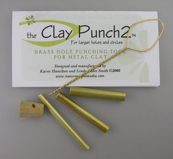 Metal clay Tools - Small Rounds - Clay tools - 3 piece set