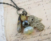 Hamsa Hand of Protection - A charming Necklace