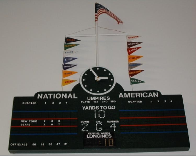 Chicago Cubs Wrigley Field Customized Scoreboard With By