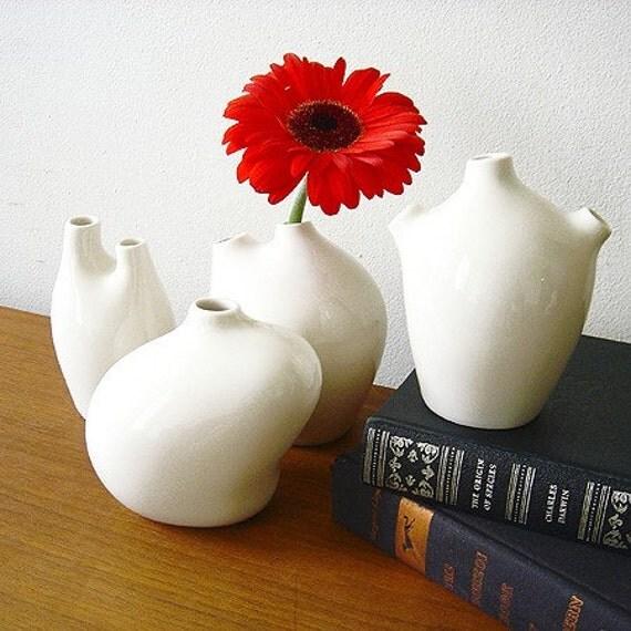SECOND QUALITY - Vita Vase - Set of 4