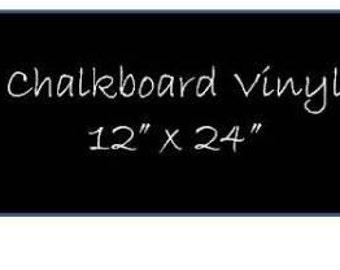 1 Sheet of Chalkboard Vinyl 12 x 24 inches DIY Chalkboard Labels, Chalkboard Vinyl Decals, DIY Weddding Chalkboards