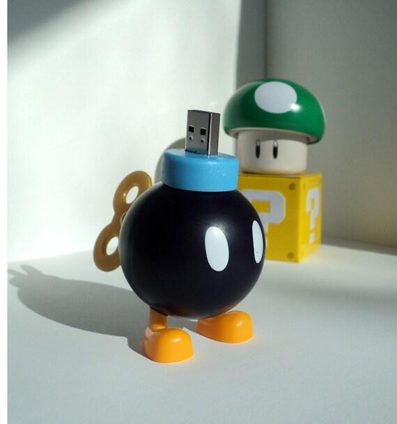 4GB Bob-Omb from Nintendo Super Mario Bros. USB Flash Drive