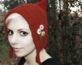 Royalty Red Pixie Hat