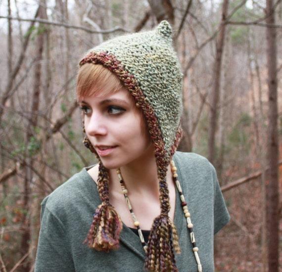 Sage Pixie Hat