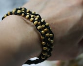 Coco seed beads bracelet x 3