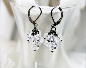 Ice globule petite earrings