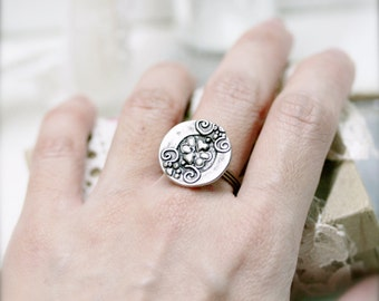 Benevolence wire wrapped ring