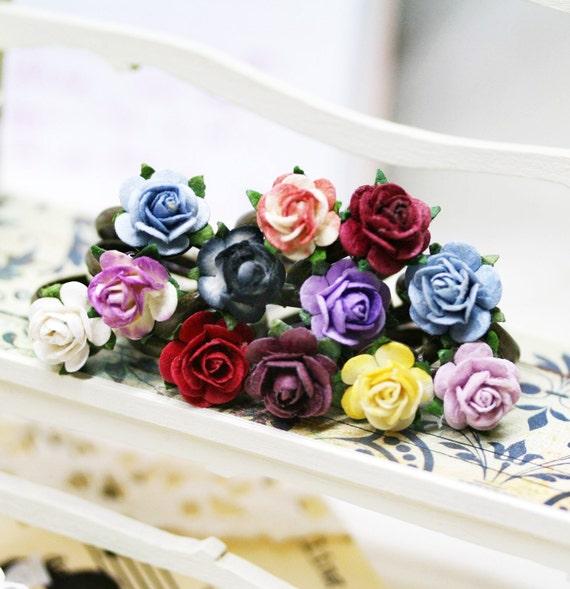 Blossom rose stackable adjustable ring