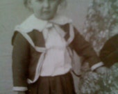 Old original cabinet photograph, Victorian era-This is Arthur Craig
