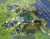 Phillipians 4:4 Rejoice - Scripture Inspired Swarovski Crystal Earrings