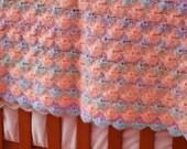 Crocheted Baby Afghan Blanket