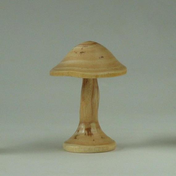 Turned Mushroom of Honey Locust Wood