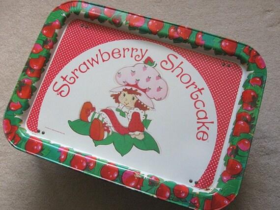 Strawberry Shortcake Tray