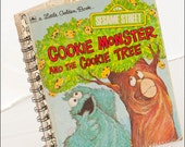 Cookie Monster and the Cookie Tree Little Golden Book Notebook