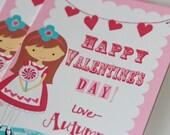 Printable Alice Valentine Cards