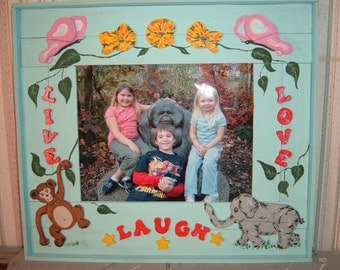Live, Love, Laugh picture frame