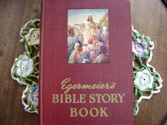 EGERMEIER'S BIBLE STORY BOOK. BY ELSIE E. ERGERMEIER 1963 STANDARD EDITION VG CO